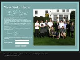 West Stoke House - Great food shame its now shut.