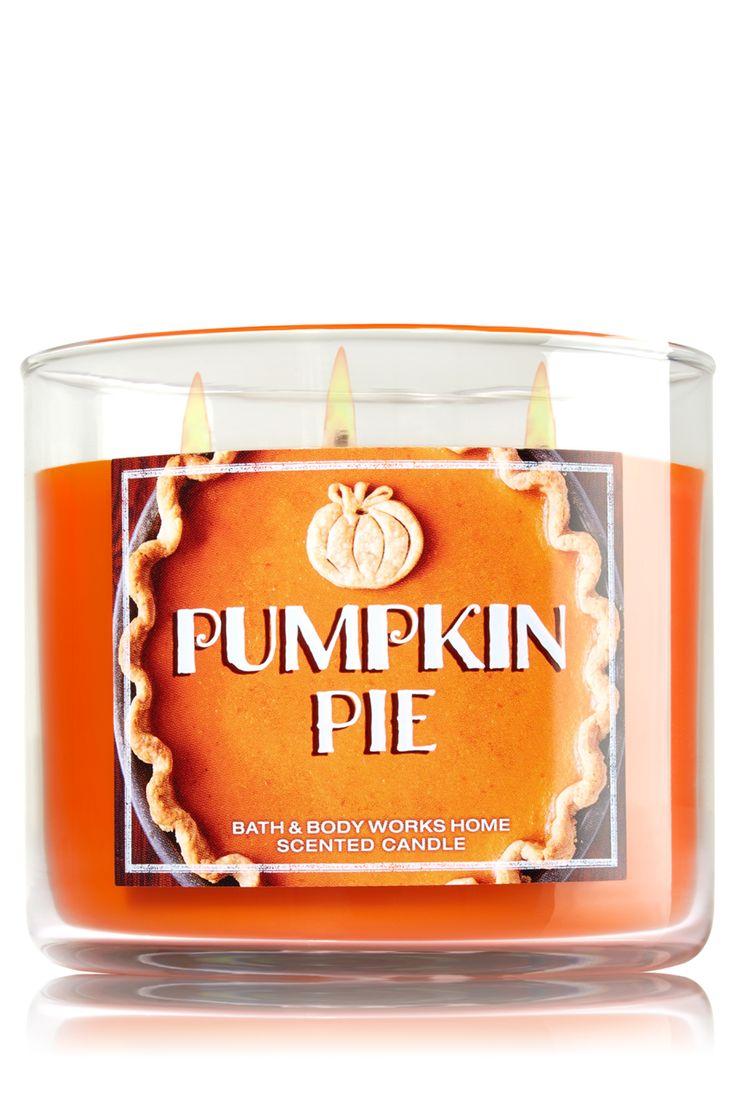 Pumpkin Pie 3-Wick Candle - Home Fragrance 1037181 - Bath & Body Works