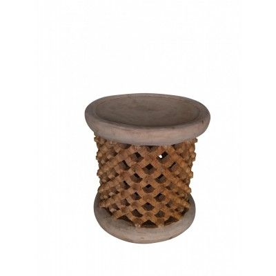 Bamileke Table/Stool, 40cm - Occasional Tables | Interiors Online - Furniture Online & Decorating Accessories