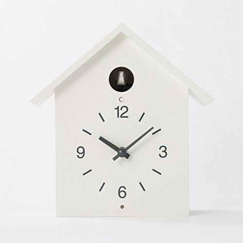 MUJI Cuckoo Clock White  Large size *** Check out the image by visiting the link. Note: It's an affiliate link to Amazon.