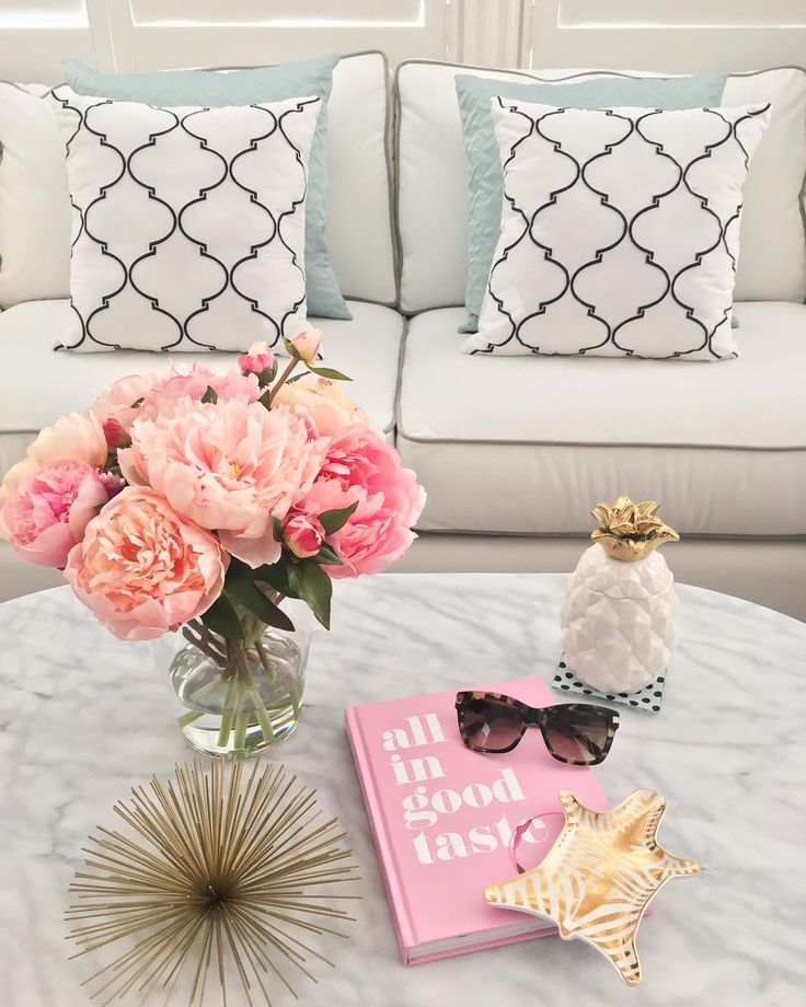 Currently on my coffee table: favorite sunglasses, book, flowers and gold accents. If you have a small face, I would highly recommend these sunnies - they are perfection.  Shop these items via @liketoknow.it or type this exact link in your browser  www.liketk.it/21WLO #liketkit @katespadeny #livecolorfully #katespade by stylishpetite