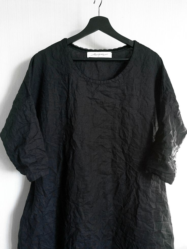 BLACK DRESS (linen 100%) 7 500 RUB http://lespois.ru/