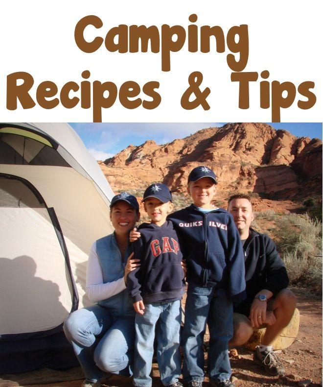 Easy Camping Menu Tips from TheFrugalGirls.com