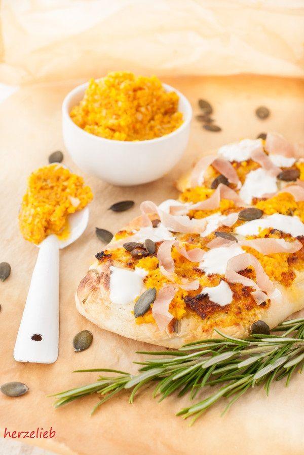 Kürbis-Pesto und Kürbis-Pizza
