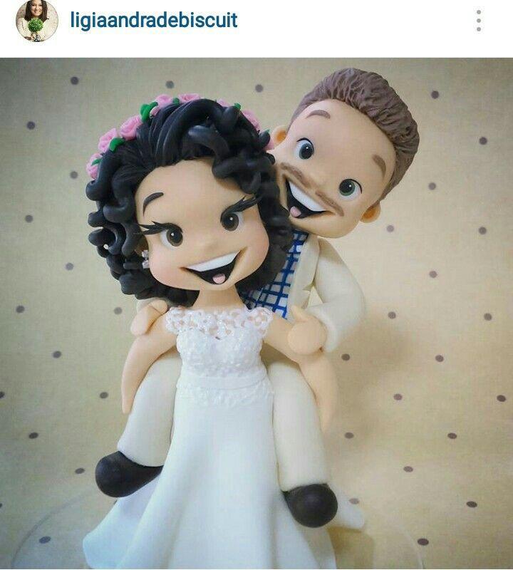 Cake Art Quito : 577 best noivos em biscuit images on Pinterest