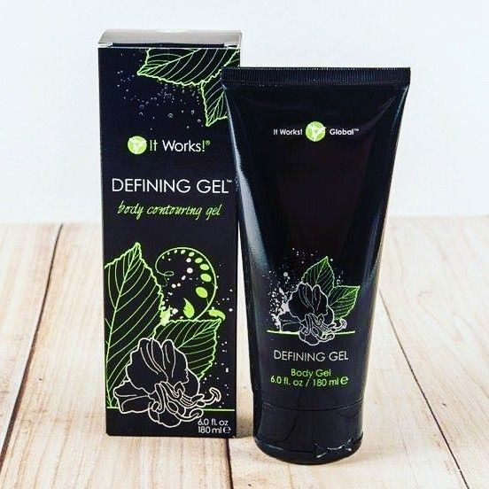 Defining Gel Magic Liquid gold Whatever you call it, if you don't have at least one tube of this right now, you are seriously missing out. This stuff tightens and firms your skin anywhere from the neck down. It gets rid of cellulite, brightens tattoos, and you can use it to get rid of varicose veins on your legs. Have cracked heels? Use Defining Gel. It's the duct tape of all lotions- works on and fixes anything and everything. Ask me how you can get 40% off...