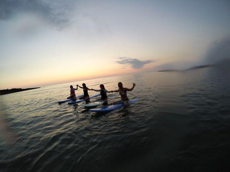 Surf School Magical Beach at Lagouvardos Greece — A Greek Adventure