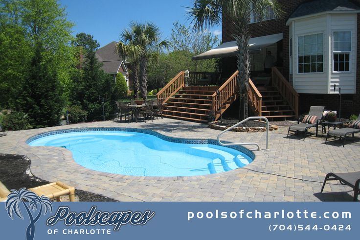 20 best poolscapes of charlotte pool builds images on - Swimming pool builders charlotte nc ...
