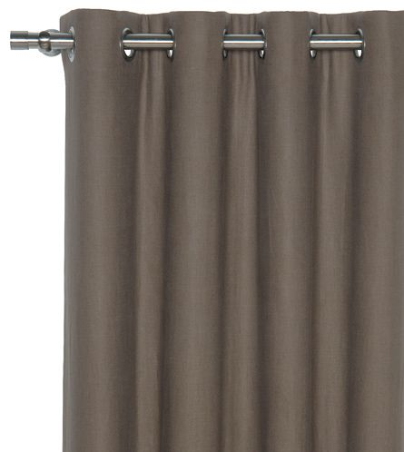Master Bedroom Panels with Grommets - Breeze Clay Curtain ...