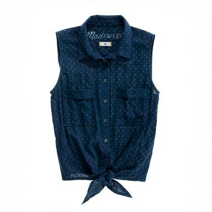 Chambray Drive-In Shirt