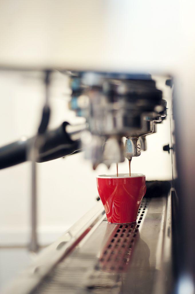 Elegant espresso Love Coffee - Makes Me Happy