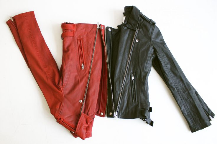 Iro leather jackets available now in our store.