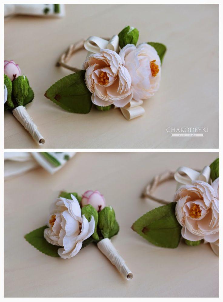Wedding accessories from Charodeyki studio