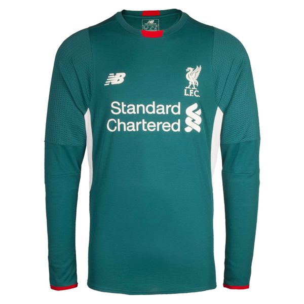 b201ed712f0 New Balance Liverpool 16 17 Goalkeeper Jersey (Green)