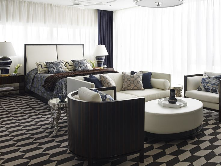 A Glamorous Example Of How To Incorporate Patterns Into Your Home