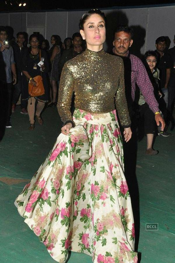 Kareena Kapoor during the Colors Stardust Awards 2014. #Bollywood #Fashion #Style #Beauty
