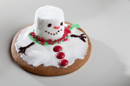 holiday kids crafts snowman cookies