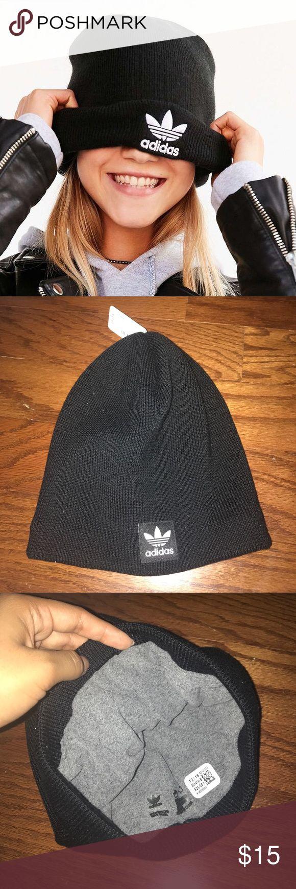 Black Adidas Beanie Brand new adidas beanie!!! Adidas Accessories Hats