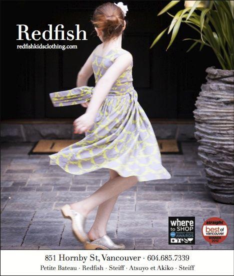 Where Vancouver September 2013 www.redfishkids.com