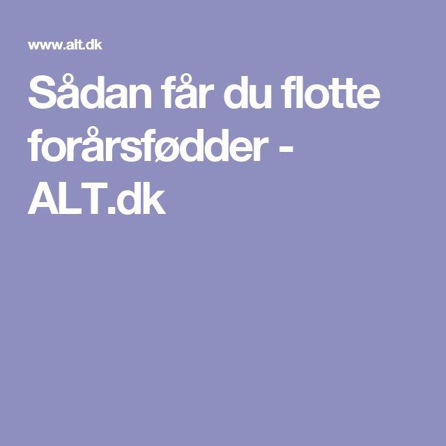 Sådan får du flotte forårsfødder - ALT.dk