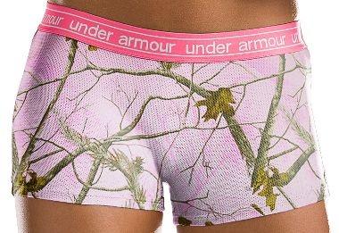 Cabela's: Women's Camo Mesh Boy Shorts