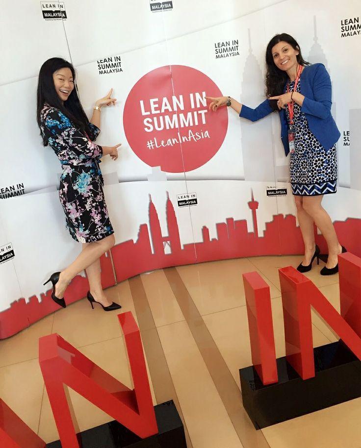 Good Morning Kuala Lumpur!  LeanIn Asia Summit 2016 with dynamic and brilliant women across Asia.  Inspiring!