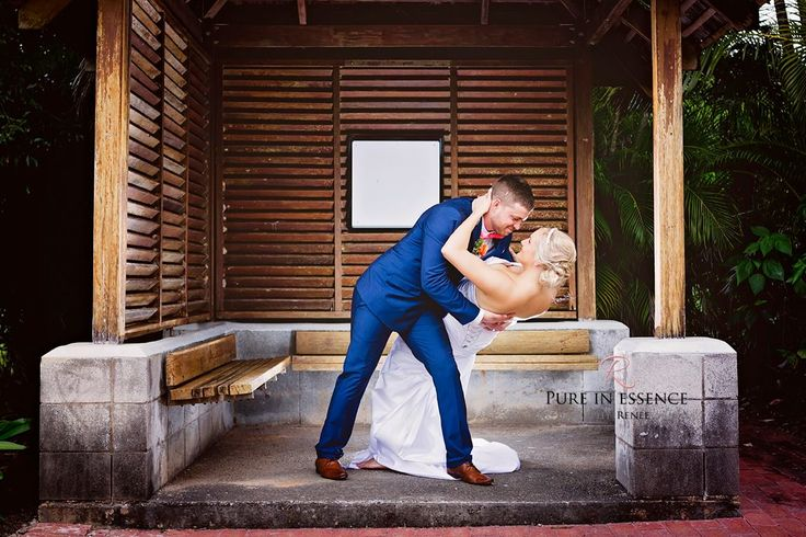 Bec and Andy, married at Paradise Palms by Cairns Celebrant Janine Meakin