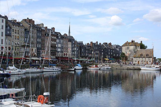 Honfleur. Normandie, France.