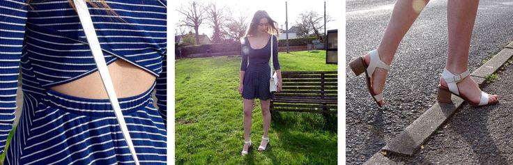 Blog 39: How I tackle the striped dress