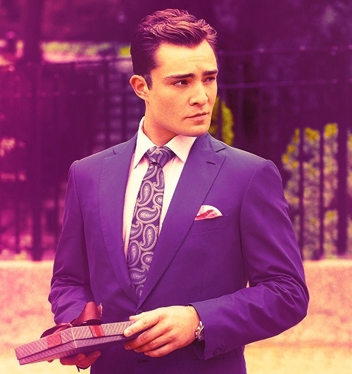 I can't stop watching Gossip Girl! Chuck Bass...there are no words!! ❤