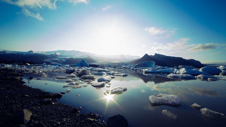 Ice blue lagoon