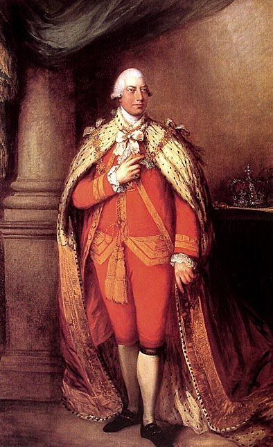 King George III (1781), by Thomas Gainsborough