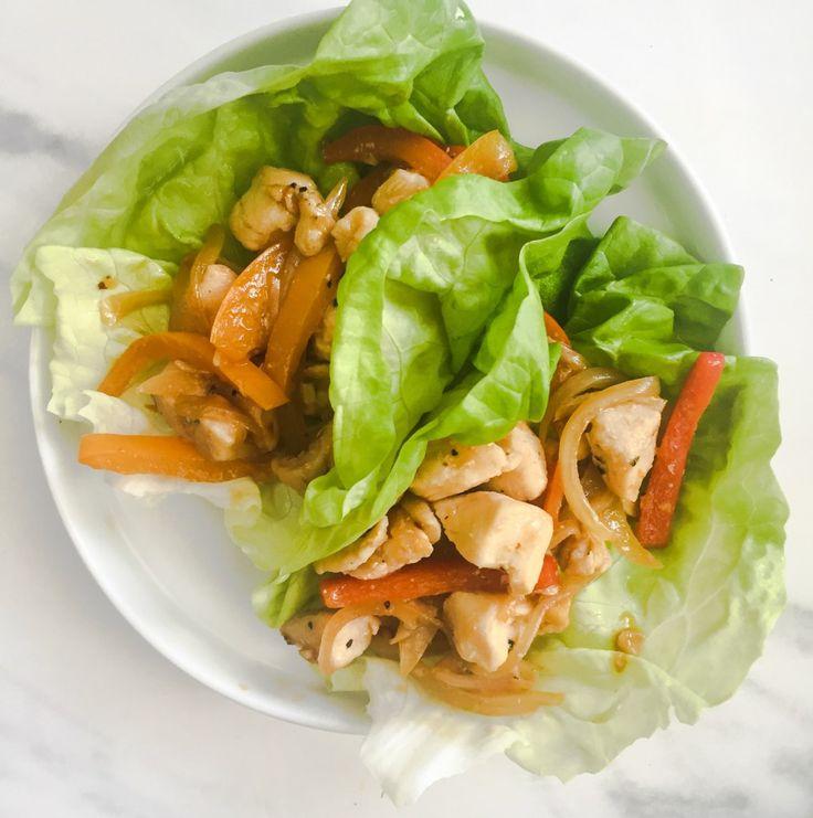 chicken stir fry lettuce wraps more lettuce wraps chicken stir fry fry ...