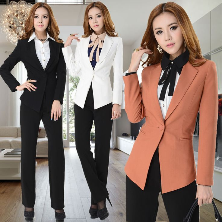 fashion new 2014 fall business suits for women winter