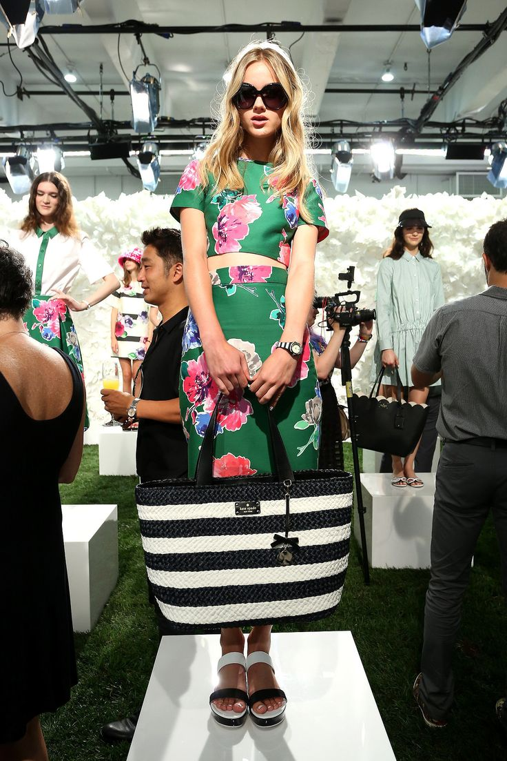 The Best Shoes, Bags, and Baubles on the 2015 Runways -- Kate Spade New York Spring 2015