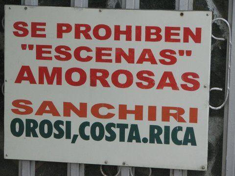 Love Scenes - Forbidden and Banned in Costa Rica