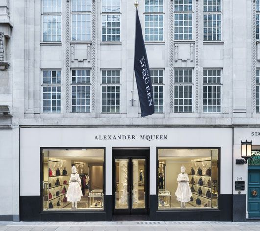 Alexander McQueen's flagship store reopens after an overhaul by David Collins Studio | Fashion | Wallpaper* Magazine