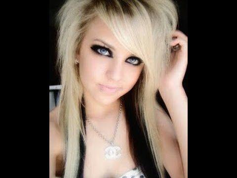 Model Potongan Gaya Rambut Emo Panjang