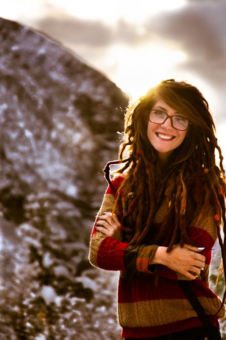 Soooo I'm a little obsessed, and I want to prove to the world that dreads can be cute too.