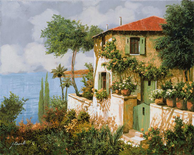 Beautiful Villa Overlooking the Ocean by Guido Borelli