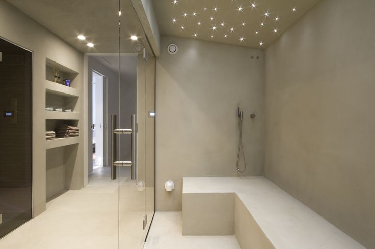 Private steamroom in The Netherlands. Design: Piet Boon // Realization: 4SeasonssSpa (www.4seasonsspa-pro.com)