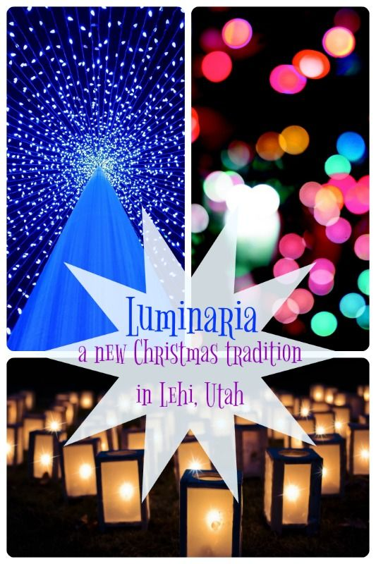 Brand-new this year is a beautiful celebration of lights in Lehi, Utah at Thanksgiving Point. It would be sad to miss it...