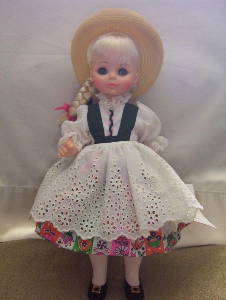 Madame Alexander doll dolls Heidi vintage beautiful unique dress #MadameAlexanderDolls #Dolls