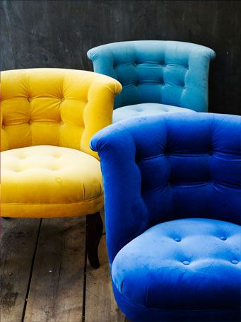 Amazing The Velvet Chair Company. The Would Add A Fantastic Splash Of Colour To Any  Room · Blue Velvet ChairsYellow ...