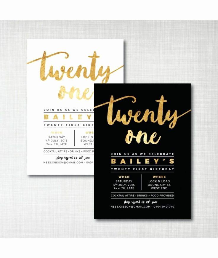 21st Birthday Party Invitation Wording Elegant 21st