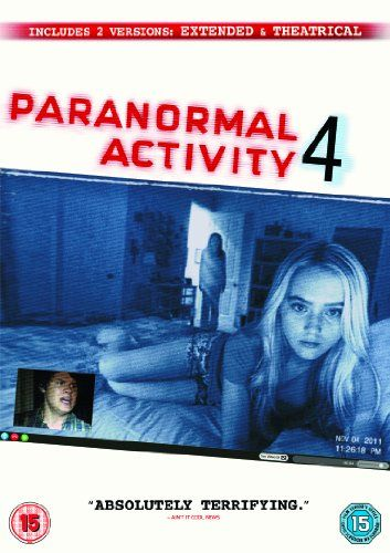 Paranormal Activity 4 Theatrical and Extended Versions DVD: Amazon.co.uk: Katie Featherston, Kathryn Newton, Stephen Dunham, Matt Shively, A...