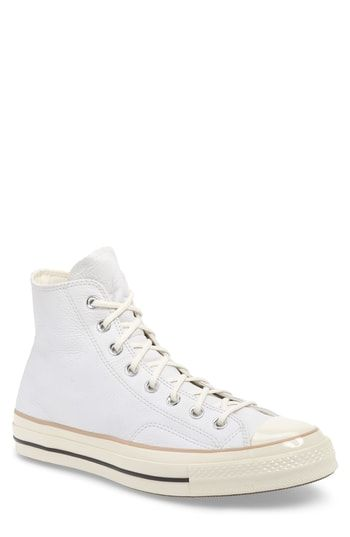 8db6a87a7a6 CONVERSE CHUCK 70 BOOT LEATHER HIGH TOP SNEAKER.  converse  shoes ...