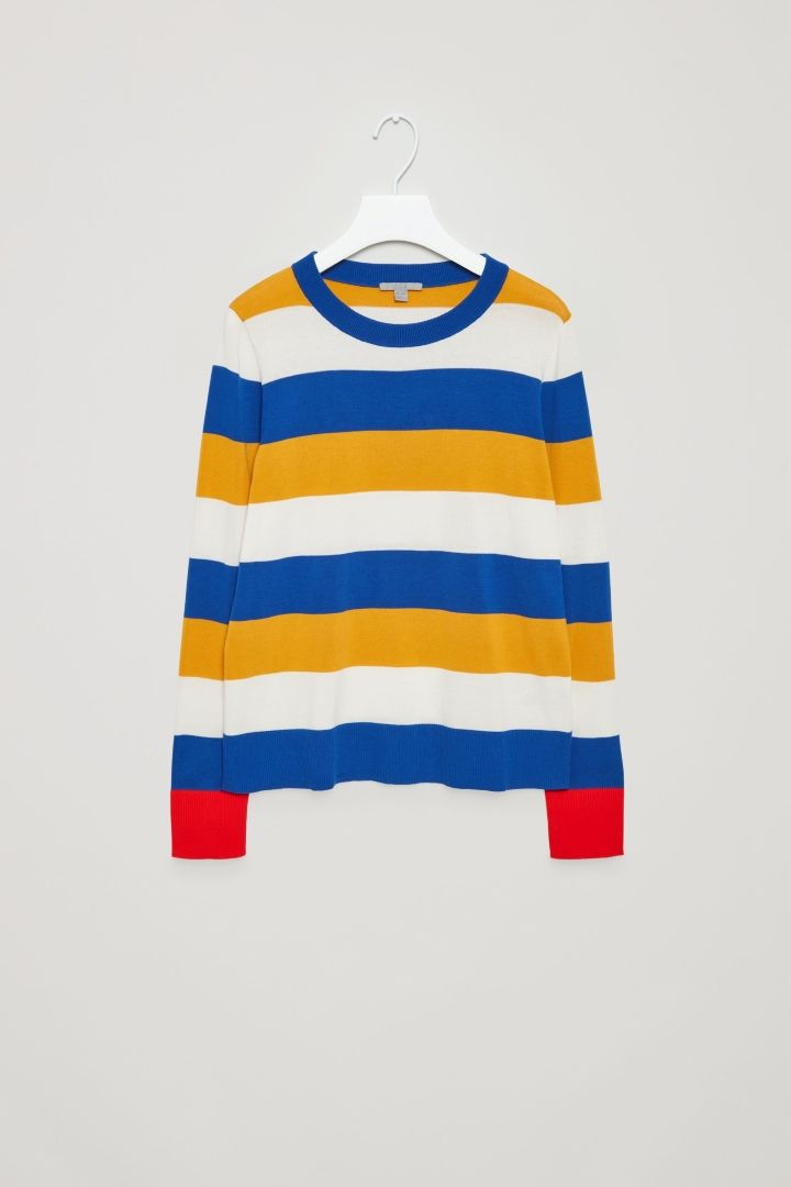COS | Fine-knitted cotton jumper