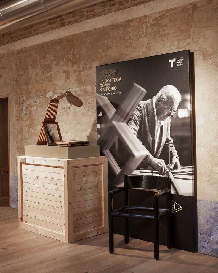 """The exhibition """"Pierluigi Ghianda, la bottega come simposio"""""""