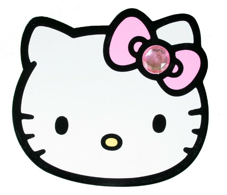 Hello Kitty Face 675 Hd Wallpapers  kinsey's flock en silhouette bord
